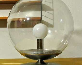 60s Samuel ball glass table lamp