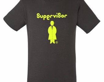Supervisor\r ®-Neon Yellow