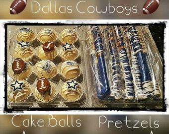 Themed Cake Balls and Pretzels!