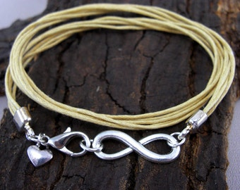 Infinity Infinity Bracelet Silver PLATED