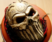 Unique Skull Sculpture Related Items Etsy
