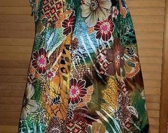 Tropical Summer Dress.....Free Shipping