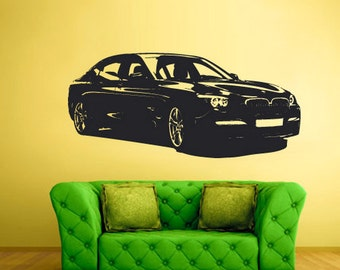 rvz1615 Wall Decal Vinyl Sticker Decals Car Auto Automobile Series Nice