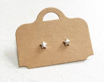 Star Earrings ~ Silver/Gold