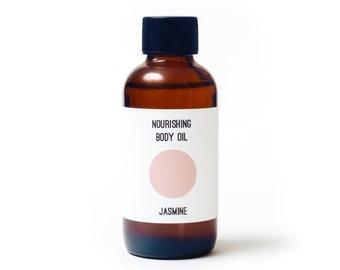 Jasmine Organic Body Oil / Organic Skin Care / Massage Oil / Organic Body Oil / Jasmine Body Lotion /Body Moisturizer/ Organic Body Care