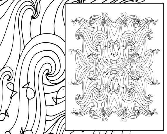 beach waves coloring pages - photo#22