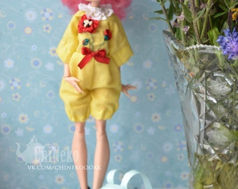 Monster Doll Custom OOAK summer outfit