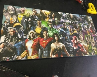 NEW  Marvel and DC Canvas