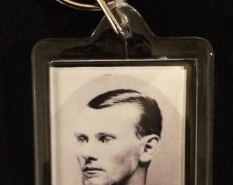 Jesse James Keychain