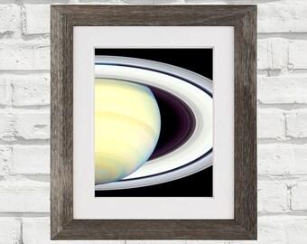 Saturn Wall Art Space Photograph Print
