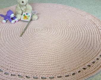 Crochet Rug 100cm