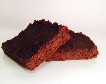 Paleo Double Chocolate Brownies, Gluten Free, Dairy Free, Grain Free, Chocolate Chips, Walnuts