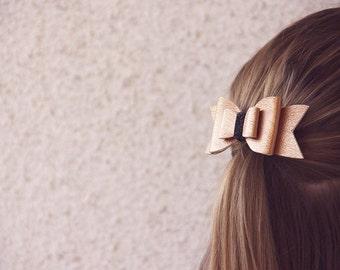 Big Bow - bronze/gold
