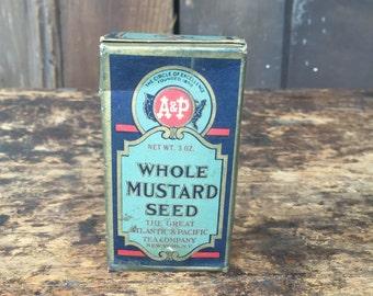 Whole Mustard Seed in Original Box