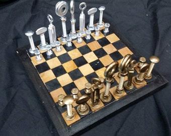 Hardware Lover's Chess Set