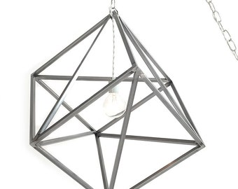 Hanging Pendant Light Steel