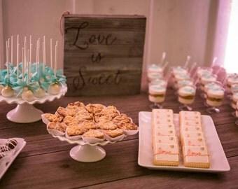 Wood Signs - Love is Sweet
