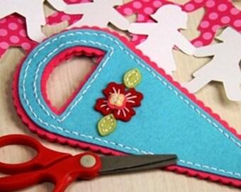 Scissors Case, Felt Scissors Case, Scissors Holder, Felt Scissors Holder
