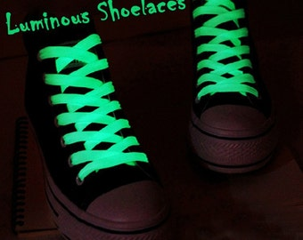 Amazing Glow in The Dark Shoe Laces! 5 Colors to choose from