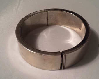 Chunky Sterling Silver .925 Bangle