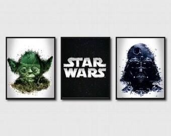 Star Wars Wall Decor Art Prints