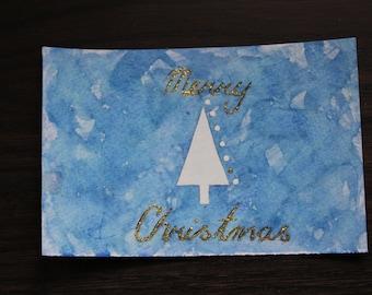 Minimalist Tree Xmas Card