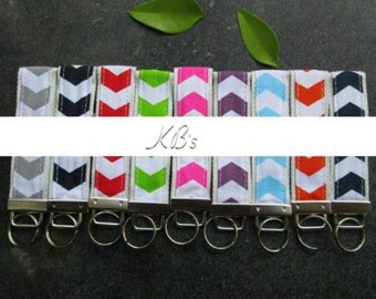 Key Fobs with names - monogrammed - personalized - keychain - Gift - stocking stuffer