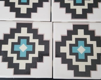 Southwest Tile Coasters