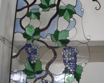 Grapes / Stained glass wall decor grapes