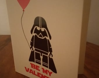 Star Wars Valentine Card Darth Vader
