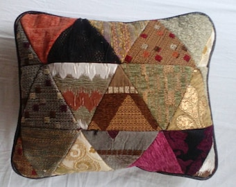 Ornamental patchwork pillow