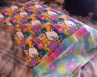 Handmade Adventure Time Pillow Case (Full Size)