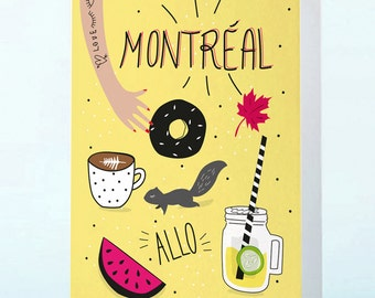 Montreal's card