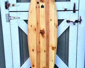 Hollow Wood Surfboard  - 6'2 Fish