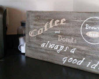 Coffe and Donuts Sign