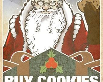 Santa Propaganda Poster #2
