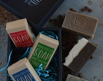 Hand-crafted Soap Trio Gift Set