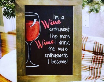 Enthusiastic Wine