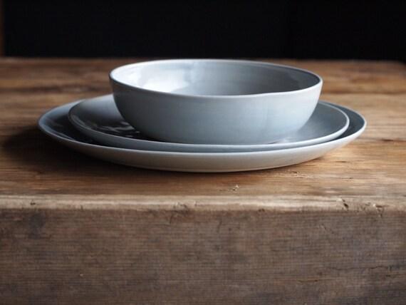Stoneware Dinnerware. Stoneware Dishes. Handmade Stoneware
