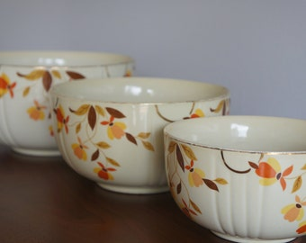 Halls Vintage Nesting Bowls Set - Autumn Leaf