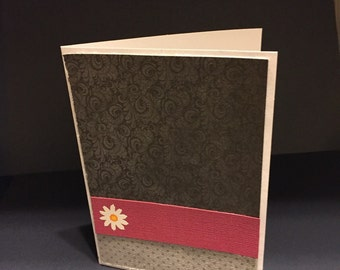 2 toned black card