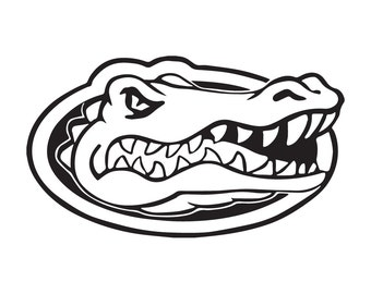 Florida Gators Cutting Files in Svg, Eps, Dxf, Png, Jpeg, and Studio for Cricut & Silhouette