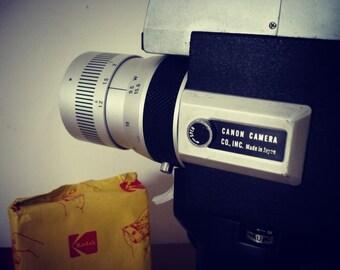 Camera super 8 Canon auto zoom 518SV vintage