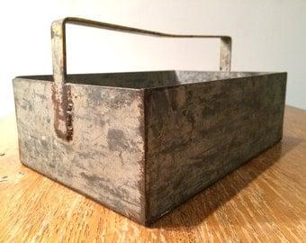 Vintage Metal Tool Box
