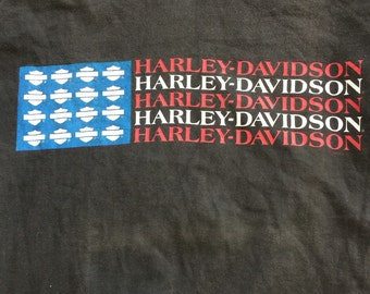 1990s vintage/ Harley Davidson/ tshirt/ sz medium