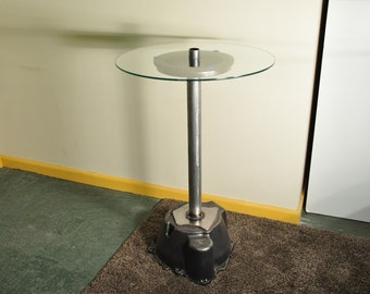 Upcycled Car Parts Table