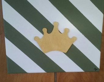 Princess & the Frog 8x10 canvas