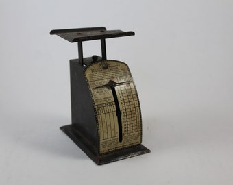 Vintage postal scale - small weigh scale - old postal scale