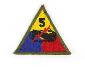 5 Canon Triangle Vintage Patch