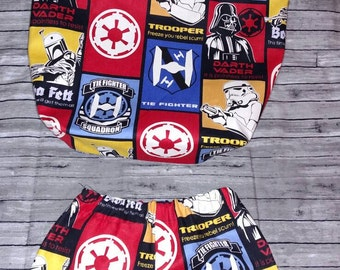Star Wars Infant Shorts and Tote Bag Size 3 Months